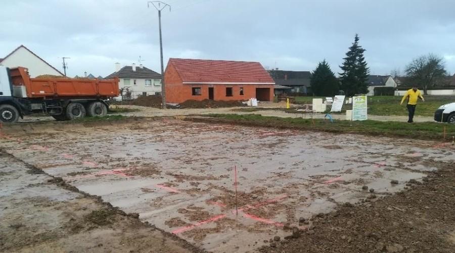 Virey le Grand, une nouvelle construction de maison commence