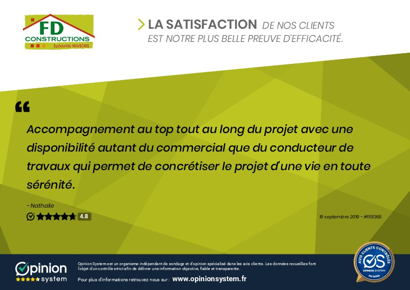 Clients satisfaits à Montchanin
