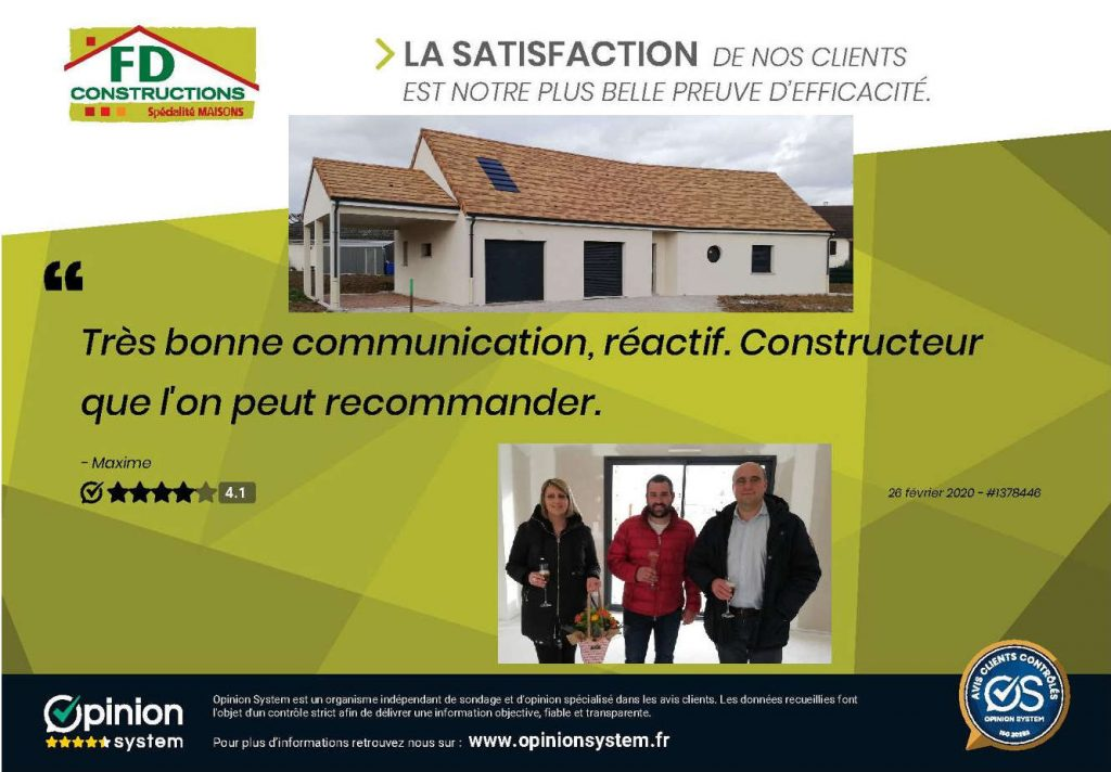 Clients satisfaits à Chatenoy le Royal