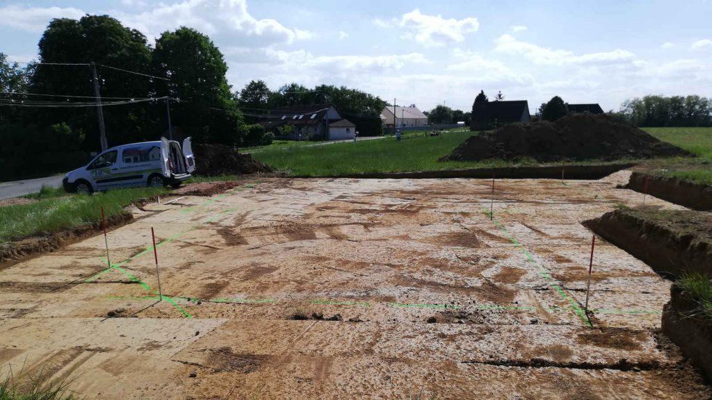 Ouverture de chantier à Baudrières