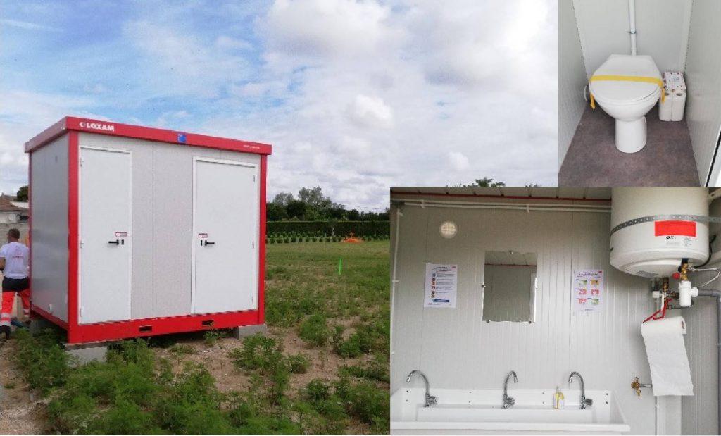 Démarrage de 2 nouvelles constructions les Allées du Parc à Chatenoy en Bresse