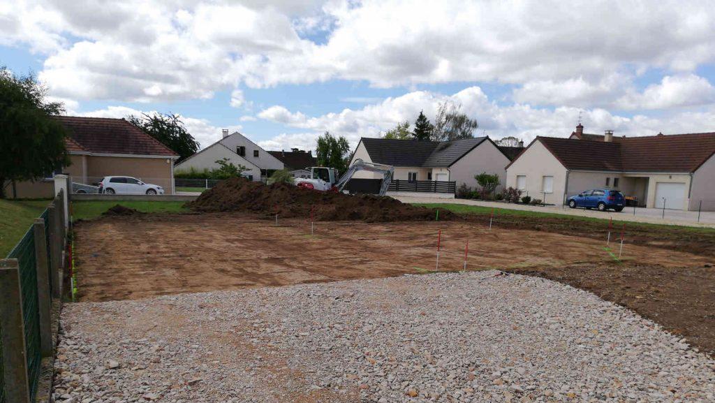 Ouverture de chantier à Varennes le Grand