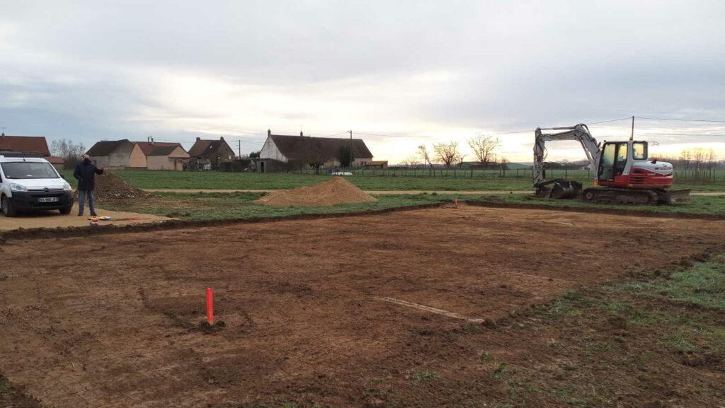 Ouverture de chantier à Marnay