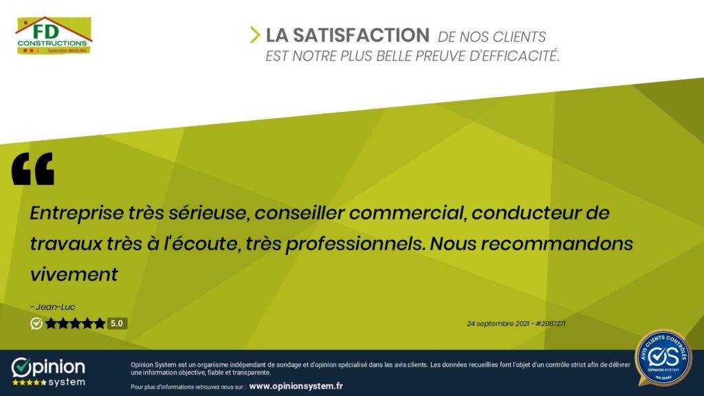Clients satisfaits à Sevrey
